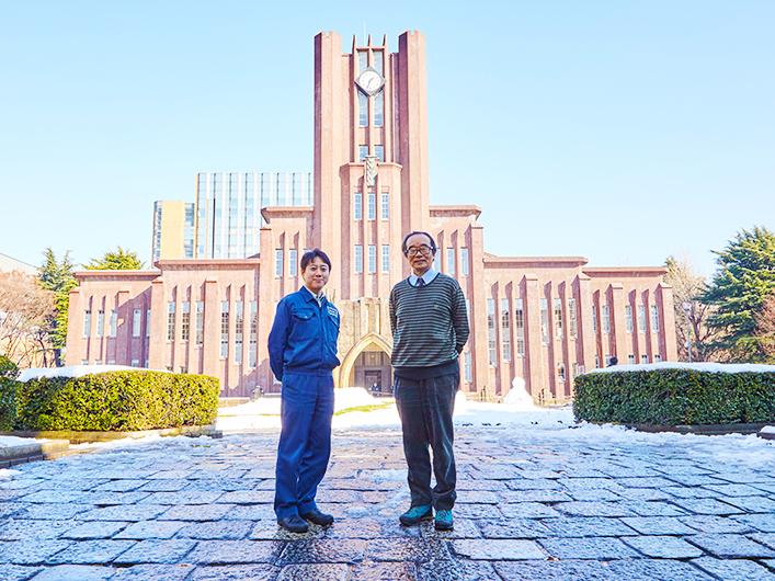 フライホイール型摩擦試験機 加藤孝久教授 東京大学
