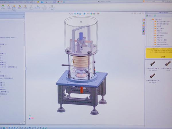 CAD等の最新設備も活用